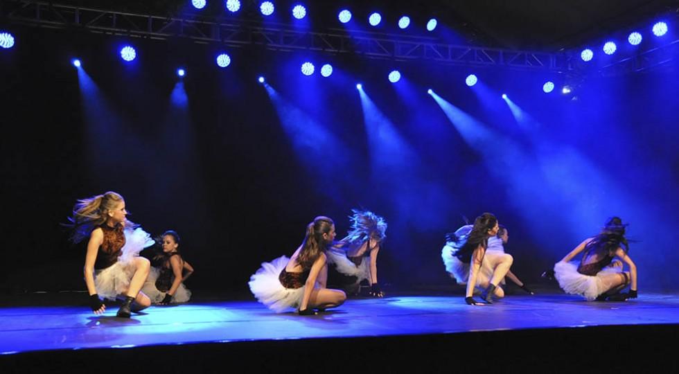 Estrutura completa para apresentações de dança
