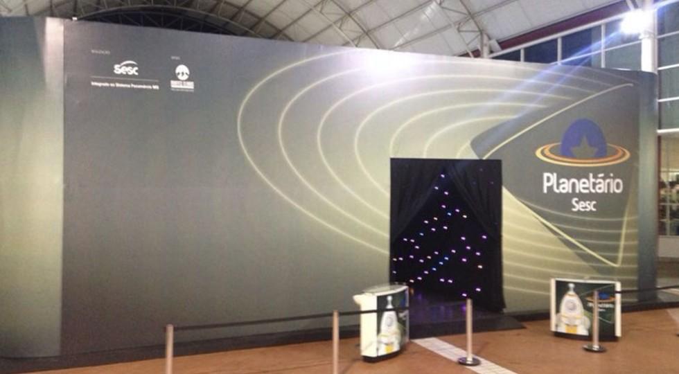 Planetário – Estrutura com fechamento em lona